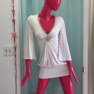 *Used* Sky White Dress